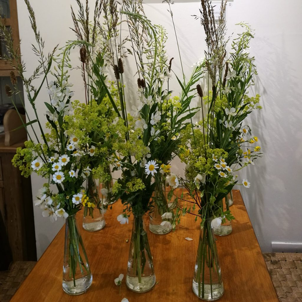 Wild Flower Arrangements