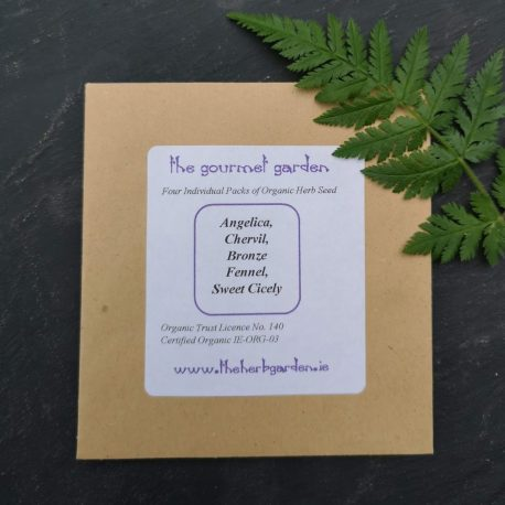 the gourmet garden herb seed collection