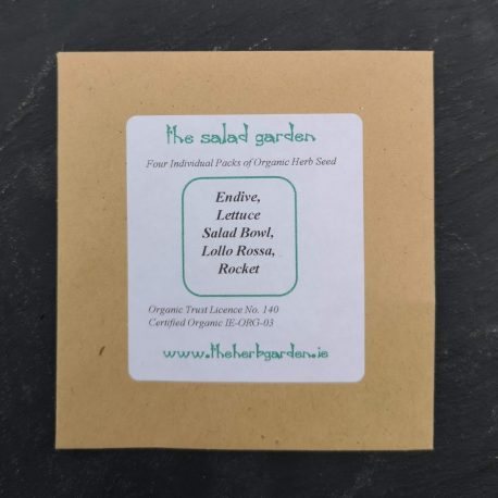 the salad garden seed collection