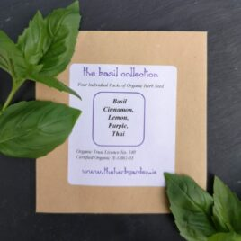 The Basil Herb Seed Collection