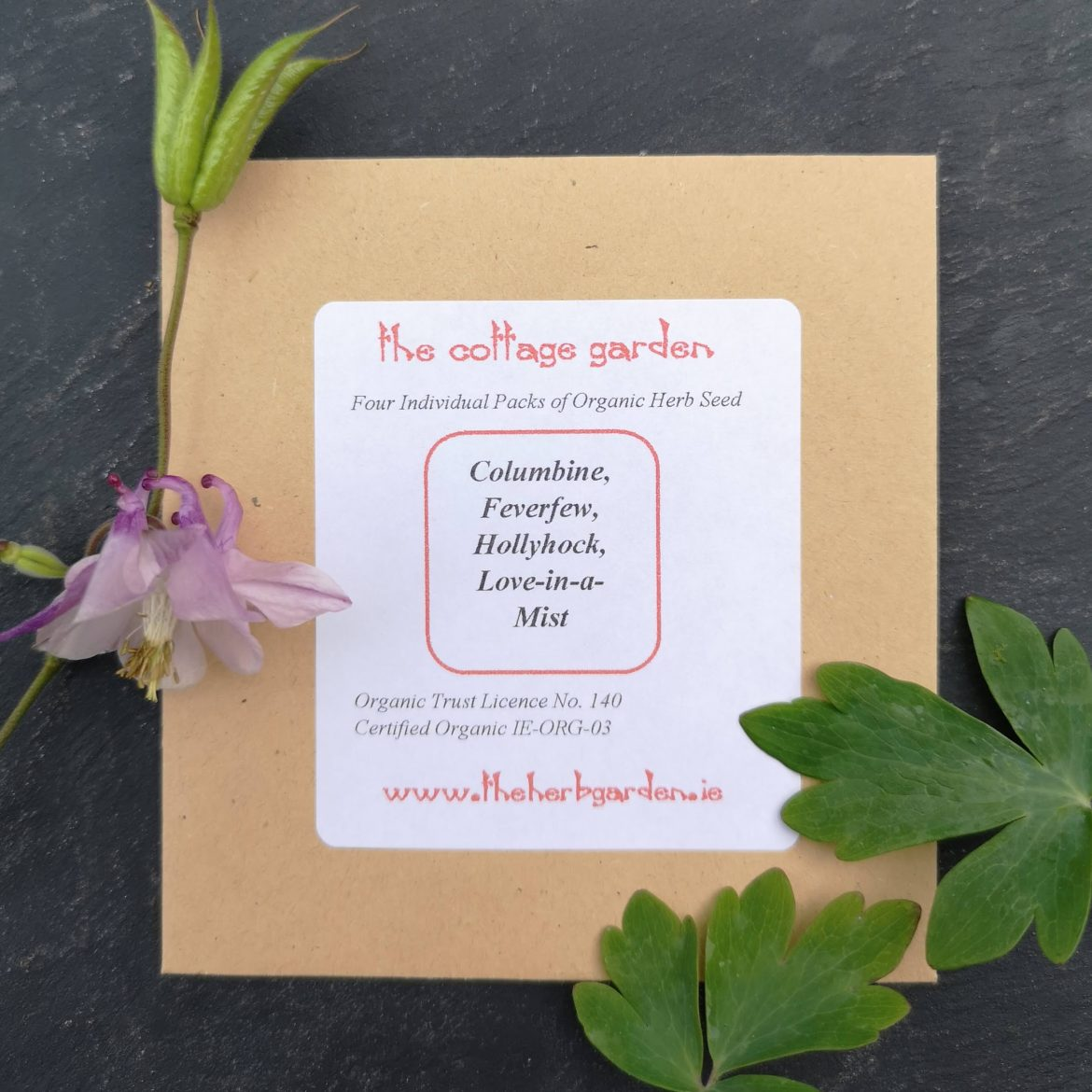 The Cottage Garden Herb Seed Collection