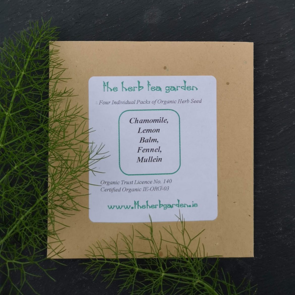 The Herb Tea Garden Seed Collection