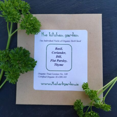 The Kitchen Garden Herb Seed Collection